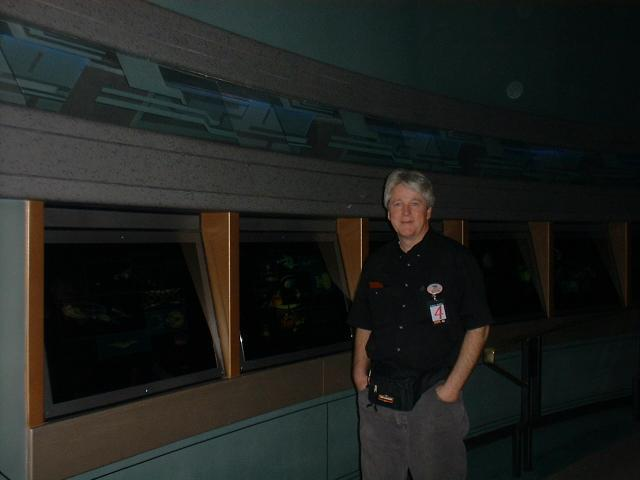 Marty at the Star Wars Experience at the Hilton Hotel
