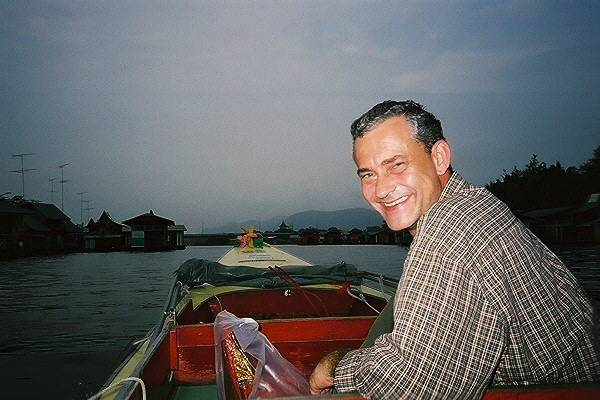 Rolf Kanies in Thailand. Photo by Patricia Zentilli